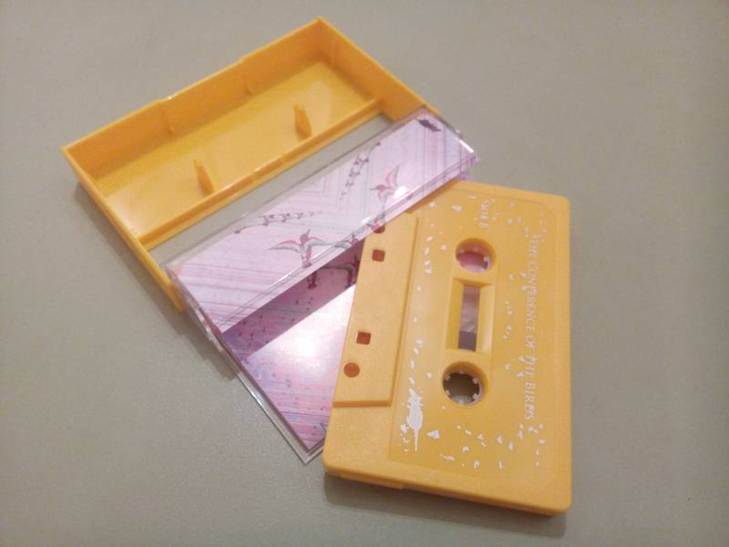 The conference of the birds Tape